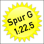 3. Lasercut Spur G - 1:22,5